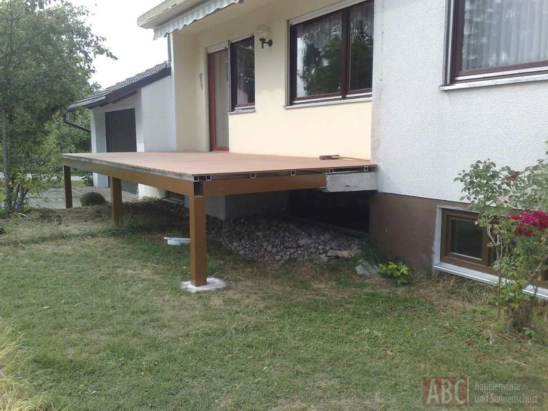 Beliebt Balkon-Unterkonstruktion - Terrassendächer von ABC-Bauelemente MR42