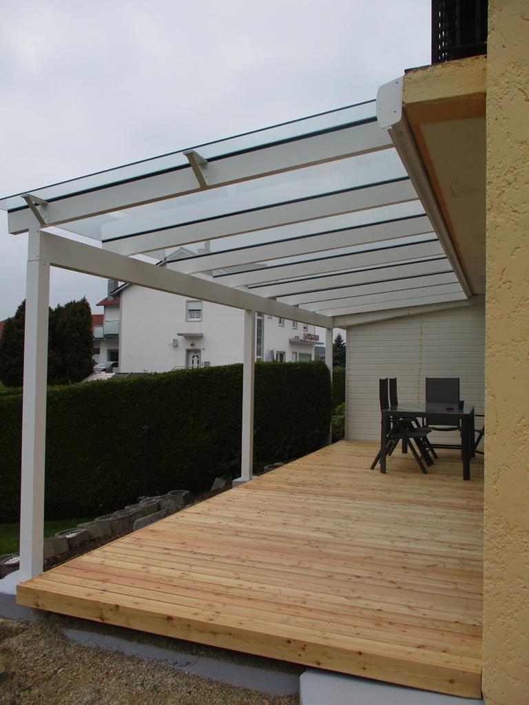 Favorit Balkonverlängerung - Terrassendächer von ABC-Bauelemente DX01